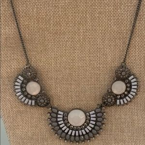 Park Lace Statement Necklace